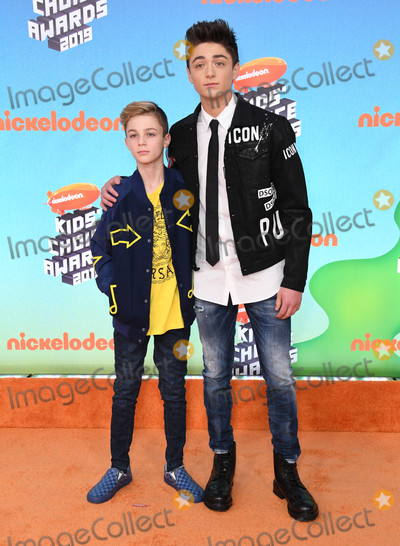 Angel Asher Photo - 23 March 2019 - Los Angeles California - Avi Angel Asher Angel 2019 Nickeldeon Kids Choice Awards held at The USC Galen Center Photo Credit Birdie ThompsonAdMedia