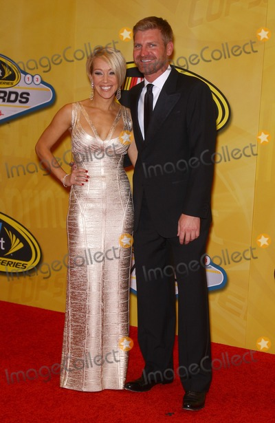 Clint Bowyer Photo - 06 December 2013 - Las Vegas NV -  Clint Bowyer Lorra Podsiadlo 2013 NASCAR Sprint Cup Series Awards Arrivals at The WynnPhoto Credit mjtAdMedia