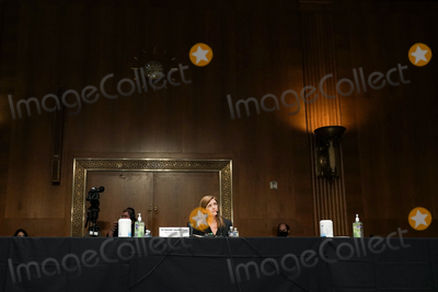 Foreigner Photo - Samantha Power nominee to be Administrator of the United States Agency for International Development listens to a question at her confirmation hearing before the Senate Foreign Relations Committee Tuesday March 23 2021Credit Greg Nash  Pool via CNPAdMedia