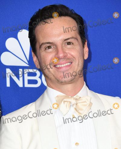 Andrew Scott Photo - 05 January 2020 - Beverly Hills California - Andrew Scott 77th Annual Golden Globes - Press Room held at Beverly Hilton Hotel Photo Credit Birdie ThompsonAdMedia