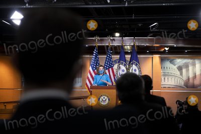 Representative Nancy Pelosi Photo - Speaker of the United States House of Representatives Nancy Pelosi (Democrat of California) offers remarks during her weekly press conference at the US Capitol in Washington DC Thursday April 22 2021 Credit Rod Lamkey  CNPAdMedia