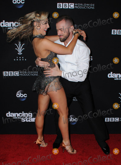 Artem Chigvintsev Photo - 22 November 2016 - Los Angeles California Emma Slater Artem Chigvintsev ABCs Dancing With The Stars Season 23 Finale held at The Grove Photo Credit Birdie ThompsonAdMedia