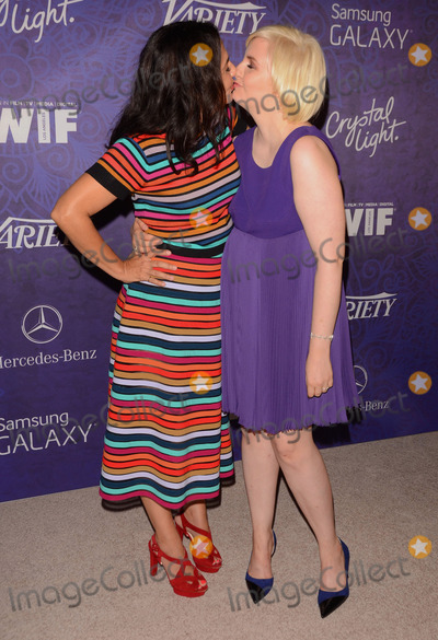 Lena Dunham Photo - 23 August 2014 - West Hollywood California - Jenni Konner Lena Dunham Arrivals for Variety and Women in Films annual Pre-Emmy Celebration held the at Gracias Madre in West Hollywood Ca Photo Credit Birdie ThompsonAdMedia