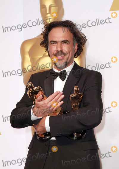 Alejandro GInarritu Photo - 22 February 2015 - Hollywood California - Producerdirector Alejandro G Inarritu winner of Best Original Screenplay Best Director and Best Motion Picture for Birdman poses in the press room during  the 87th Annual Academy Awards presented by the Academy of Motion Picture Arts and Sciences held at the Dolby Theatre Photo Credit Theresa BoucheAdMedia
