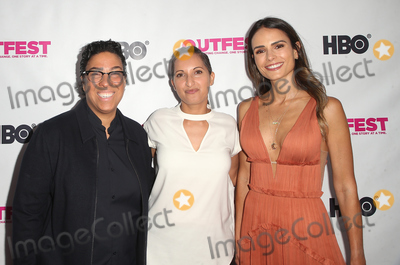 Angela Robinson Photo - 12 July 2018 - Los Angeles California - Angela Robinson Lucy Mukerjee Jordana Brewster  2018 Outfest Los Angeles LGBT Film Festival Opening Night Gala of STUDIO 54 at the Orpheum Theatre Photo Credit F SadouAdMedia