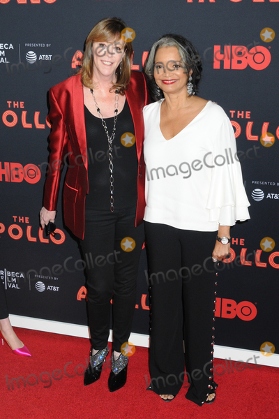 Jonell Photo - 24 April 2019 - New York New York - Jane Rosenthal and Jonelle Procope at the Opening Night of the 2019 Tribeca Film Festival World Premiere of HBO Documentary Film THE APOLLO at The Apollo in Harlem Photo Credit LJ FotosAdMedia