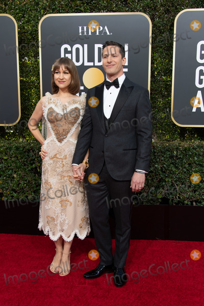 Andy Samberg Photo - 06 January 2018 - Beverly Hills California - Joanna Newsom and Andy Samberg 76th Annual Golden Globe Awards held at the Beverly Hilton Photo Credit HFPAAdMedia