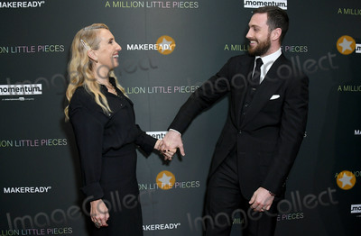 Aaron Taylor-Johnson Photo - 04 December 2019 - West Hollywood California - Sam Taylor-Johnson Aaron Taylor-Johnson Special Screening Of Momentum Pictures A Million Little Pieces held at The London West Hollywood Photo Credit Birdie ThompsonAdMedia