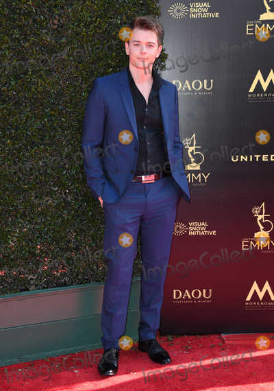 Chad Duell Photo - 27 April 2018 -  Pasadena California - Chad Duell 45th Annual Daytime Creative Arts Emmys Awards held at Pasadena Civic Center Photo Credit Birdie ThompsonAdMedia