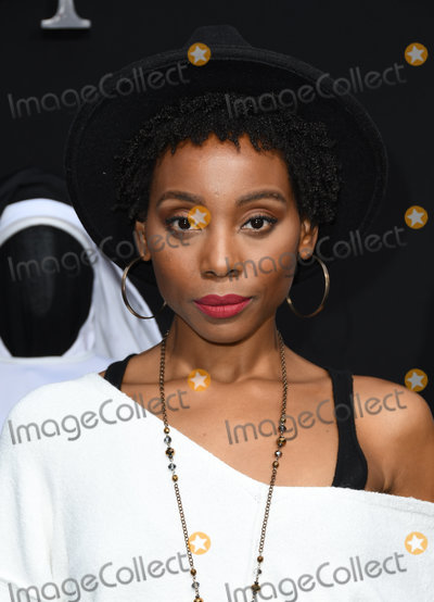 ASH Photo - 04 September 2018 - Hollywood California - Erica Ash   The Nun Los Angeles Premiere held at TCL Chinese Theatre Photo Credit Birdie ThompsonAdMedia