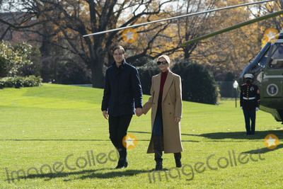 JARED KUSHNER Photo - First Daughter and Advisor to the President Ivanka Trump and husband Jared Kushner Assistant to the President and Senior Advisor return to the White House with United States President Donald Trump after spending Thanksgiving weekend at Camp David the presidential retreat near Thurmont MarylandCredit Chris Kleponis  Pool via CNPAdMedia