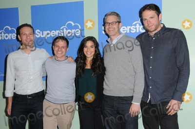 AMERICA FERERRA Photo - 07 June 2016 - Hollywood Jonathan Green  Justin Spitzer America Fererra Gabe Miller David Bernard  Arrivals for NBCs Superstore FYC copyright UBC comedy panel series held at the UCB Sunset Theater Photo Credit Birdie ThompsonAdMedia