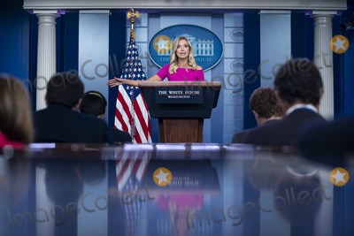 White House Photo - Kayleigh McEnany White House press secretary speaks during a news conference in the James S Brady Press Briefing Room at the White House in Washington DC US on Monday June 22 2020 Credit Al Drago  Pool via CNPAdMedia