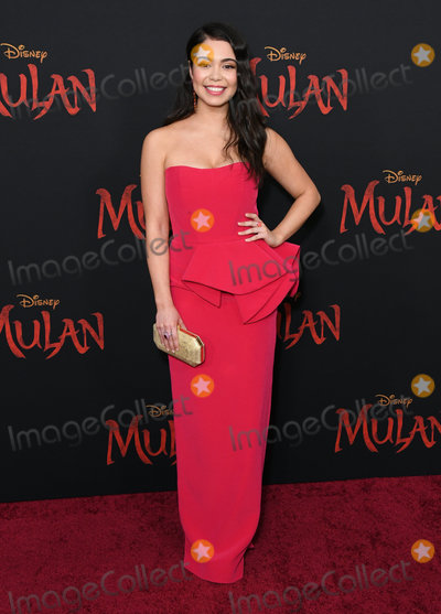 Aulii Cravalho Photo - 09 March 2020 - Hollywood California - Aulii Cravalho Disneys Mulan Los Angeles Premiere held at Dolby Theater Photo Credit Birdie ThompsonAdMedia