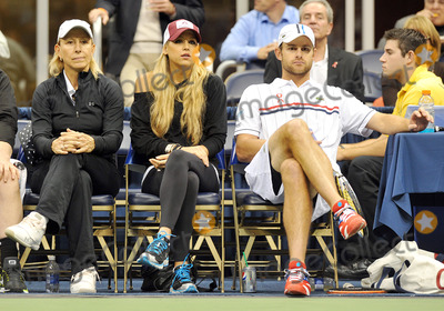 Andy Roddick Photo - 16 October 2012 - Pittsburgh PA - Tennis stars MARTINA NAVRATILOVA ANNA KOURNIKOVA and ANDY RODDICK participated with TEAM ELTON at the Mylan WTT Smash Hits World Team Tennis Match held at the Petersen Events Center The 20th anniversary edition of Mylan WTTSmash Hits presented by GEICO was one for the record books with the event posting a record 1 million for the Elton John AIDS Foundation with a portion of those proceeds benefitting the Pittsburgh AIDS Task Force Theevent hosted annually by Sir Elton John and Billie Jean King has now raised more the 115 million to support HIV and AIDS prevention and awareness programs since the first Smash Hits was held in Los Angeles in 1993  Photo Credit Jason L NelsonAdMedia