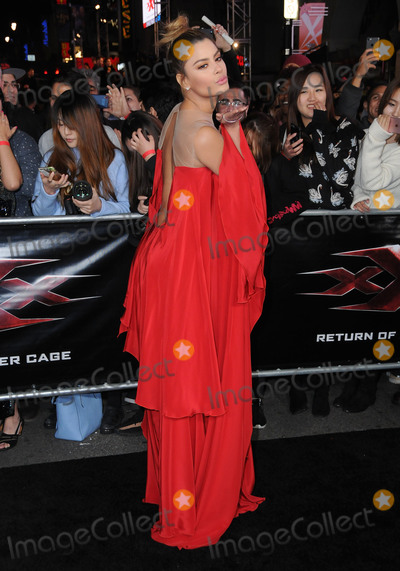 Ariadna Gutirrez Photo - 19 January 2017 - Hollywood California - Ariadna Gutirrez Los Angeles premiere of  xXx Return Of Xander Cage held at the TCL Chinese Theatre Photo Credit Birdie ThompsonAdMedia