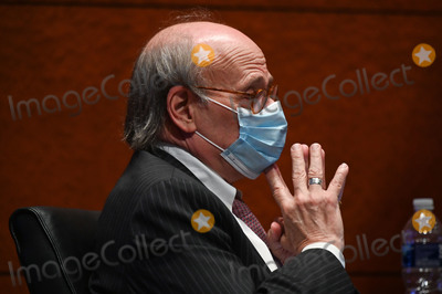 Train Photo - United States Representative Steve Cohen (Democrat of Tennessee) listens during a US House Judiciary Committee markup on HR 7120 the Justice in Policing Act of 2020 in Washington DC US on Wednesday June 17 2020 The House bill would make it easier to prosecute and sue officers and would ban federal officers from using choke holds bar racial profiling end no-knock search warrants in drug cases create a national registry for police violations and require local police departments that get federal funds to conduct bias trainingCredit Erin Scott  Pool via CNPAdMedia