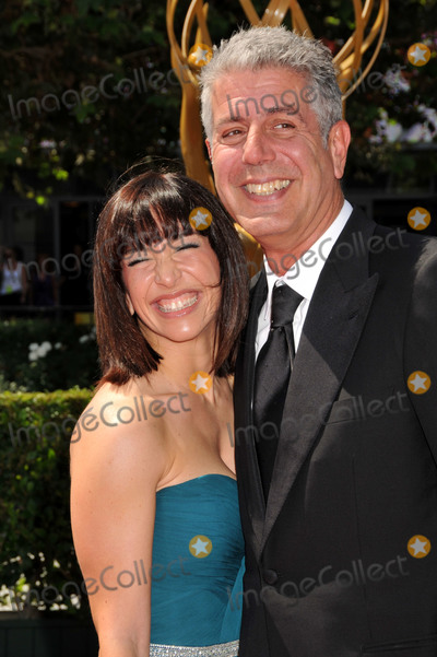 Anthony Bourdain Photo - 08 June  2018 -  Anthony Bourdain the TV celebrity and food writer who hosted CNNs  Parts Unknown was found dead in his hotel room File Photo 12 September 2009 - Los Angeles California - Anthony Bourdain (r) and wife Ottavia Busia 61st Annual Creative Arts Emmy Awards held at Nokia Theatre LA Live Photo Credit Byron PurvisAdMedia