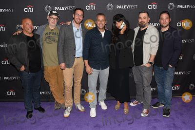 Andy Breckman Photo - 13 September 2019 - Beverly Hills California - (L-R) Michael Bloom Andy Breckman Joe Gatto Jameela Jamil Brian Quinn and Ben Newmark The Misery Index at The Paley Center For Medias 13th Annual PaleyFest Fall TV Previews - TBS Photo Credit Billy BennightAdMedia