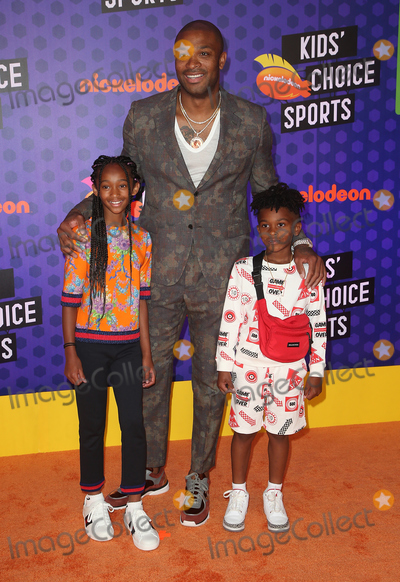 Aaliyah Photo - 19 July 2018 - Santa Monica California - P J Tucker King Tucker Aaliyah Tucker Nickelodeon Kids Choice Sports Awards 2018 held at Barker Hangar Photo Credit Faye SadouAdMedia