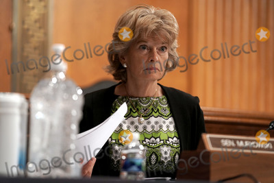 Alaska  Photo - United States Senator Lisa Murkowski (Republican of Alaska) is seen during a US Senate Health Education Labor and Pensions Committee hearing on Tuesday June 23 2020 to discuss the lessons learned during the coronavirus to prepare for the next pandemicCredit Greg Nash  Pool via CNPAdMedia