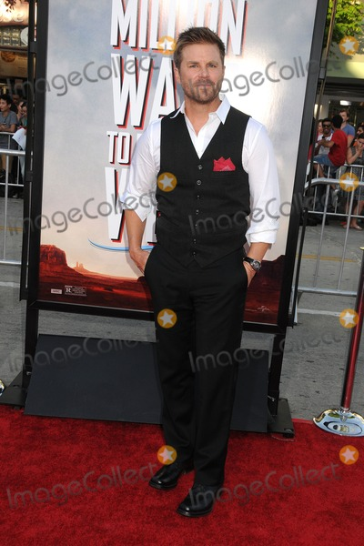 Aaron McPherson Photo - 15 May 2014 - Westwood California - Aaron McPherson A Million Ways to Die in the West Los Angeles Premiere held at the Regency Village Theatre Photo Credit Byron PurvisAdMedia