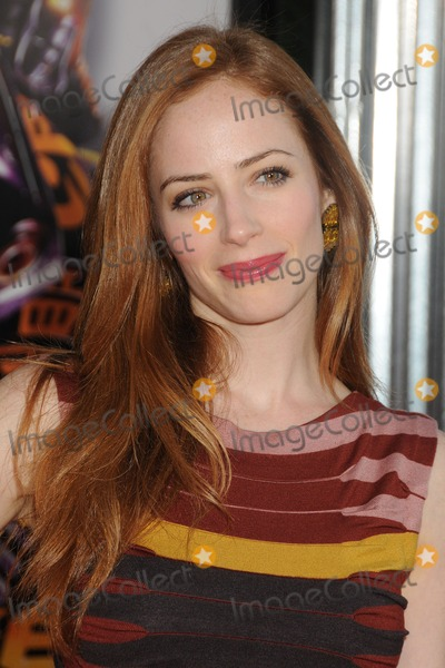Jaime Ray Newman Photo - 2 October 2011 - Universal City California - Jaime Ray Newman Real Steel Los Angeles Premiere held at Universal Gibson Amphitheatre Photo Credit Byron PurvisAdMedia