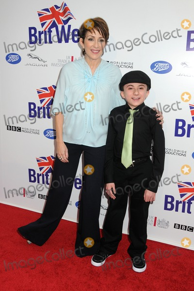 Atticus Shaffer Photo - 24 April 2012 - Los Angeles California - Patricia Heaton Atticus Shaffer BritWeek 2012 Official Launch held at a Private Residence Photo Credit Byron PurvisAdMedia