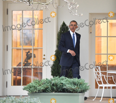 Barack Obama Photo - President Barak Obama leaves the White House for the final time as President as the nation prepares for the inauguration of President-elect Donald Trump on January 20 2017 in Washington DC  Trump becomes the 45th President of the United States Photo Credit Kevin DietschCNPAdMedia