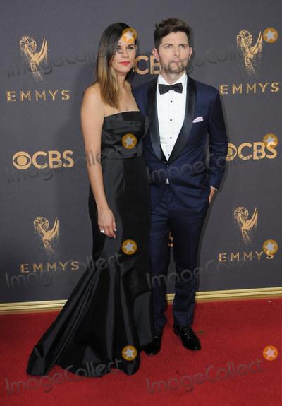 Adam Scott Photo - 17 September  2017 - Los Angeles California - Adam Scott 69th Annual Primetime Emmy Awards - Arrivals held at Microsoft Theater in Los Angeles Photo Credit Birdie ThompsonAdMedia