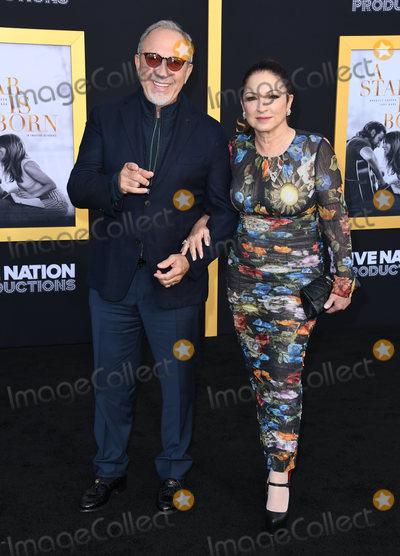 Emilio Estefan Photo - 24 September 2018 - Los Angeles California - Emilio Estefan Gloria Estefan A Star is Born Los Angeles Premiere held at The Shrine Auditorium Photo Credit Birdie ThompsonAdMedia