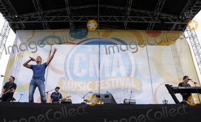 Dean Sams Photo - 08 June 2014 - Nashville Tennessee - Richie McDonald Michael Britt Keech Rainwater and Dean Sams Lonestar 2014 CMA Music Festival held at the Chevrolet Riverfront Stage Photo Credit Dara-Michelle FarrAdMedia