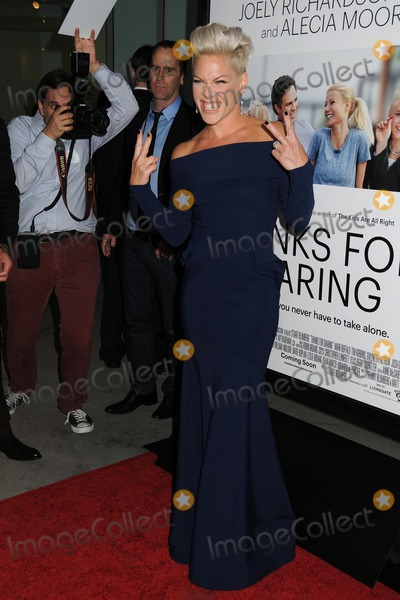 Alecia Moore Photo - 16 September 2013 - Hollywood California - Alecia Moore Pink Thanks For Sharing Los Angeles Premiere held at Arclight Cinemas Photo Credit Byron PurvisAdMedia