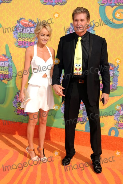 Hayley Roberts Photo - 29 March 2014 - Los Angeles California - Hayley Roberts David Hasselhoff 27th Annual Nickelodeon Kids Choice Awards held at the USC Galen Center Photo Credit Byron PurvisAdMedia