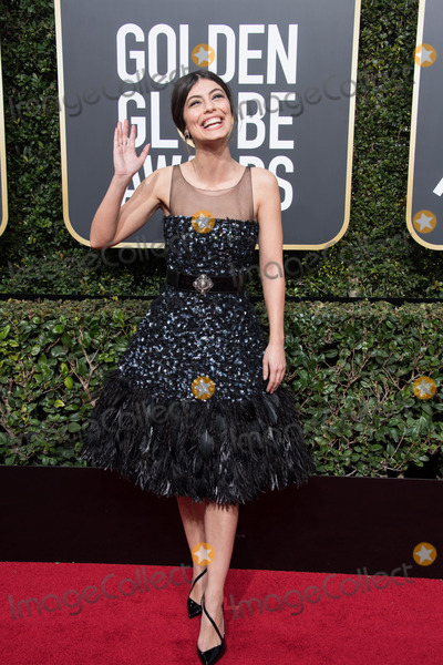 Alessandra Mastronardi Photo - 07 January 2018 - Beverly Hills California - Alessandra Mastronardi 75th Annual Golden Globe Awards held at the Beverly Hilton Photo Credit HFPAAdMedia