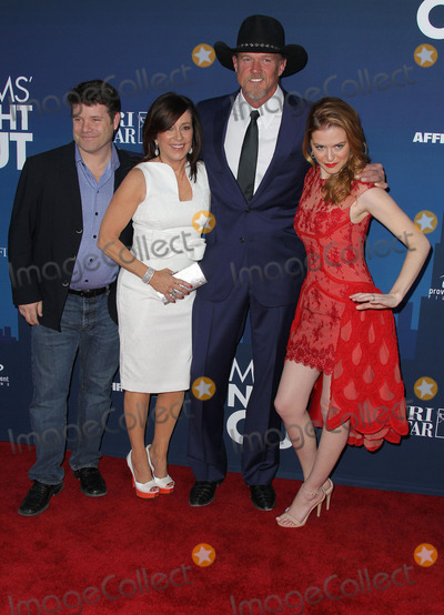 Trace Adkins Photo - 29 April 2014 - Hollywood California - Sean Astin Patricia Heaton Trace Adkins Sarah Drew Moms Night Out World Premiere held at the TCL Chinese Theatre Photo Credit F SadouAdMedia