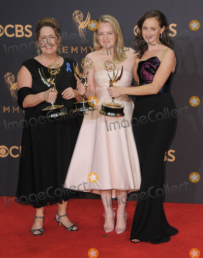 Alexis Bidel Photo - 17 September  2017 - Los Angeles California - Ann Dowd Elizabeth Moss Alexis Bidel 69th Annual Primetime Emmy Awards -  Press Room held at Microsoft Theater in Los Angeles Photo Credit Birdie ThompsonAdMedia