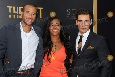 Aaron Hines Photo - 30 July 2015 - Los Angeles California - Aaron Hines Nichelle Hines Nick Hounslow The Gift Los Angeles Premiere held at Regal Cinemas LA Live Photo Credit Byron PurvisAdMedia