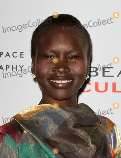 Alek Wek Photo - 19 May 2011 - Century City California - Alek Wek BEAUTY CULTURE a photographic exploration  Held At The Annenberg Space for Photography Photo Credit Kevan BrooksAdMedia