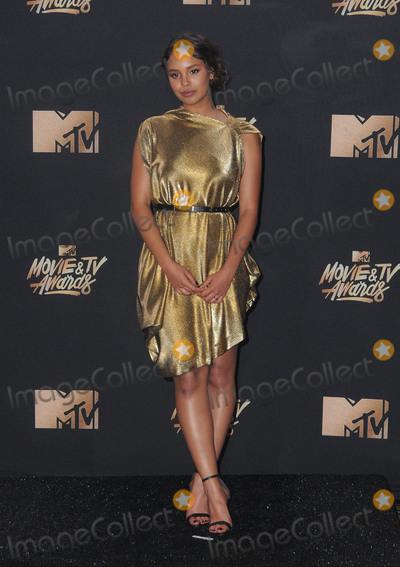 Alisha Boe Photo - 07 May 2017 - Los Angeles California - Alisha Boe 2017 MTV Movie Awards - Press Room held at Shrine Auditorium in Los Angeles Photo Credit Birdie ThompsonAdMedia