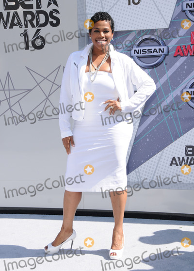 Nicci Gilbert Photo - 26 June 2016 - Los Angeles Nicci Gilbert Arrivals for the 2016 BET Awards held at the Microsoft Theater Photo Credit Birdie ThompsonAdMedia