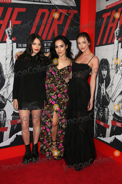 Alexanne Wagner Photo - 18 March 2019 - Hollywood California - Alexanne Wagner Elena Evangelo Courtney Dietz Netflixs The Dirt World Premiere held at The Wolf Theatre at The ArcLight Cinemas Cinerama Dome Photo Credit Faye SadouAdMedia