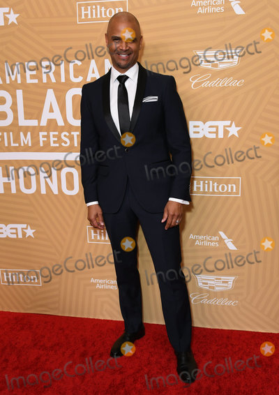 Dondre Whitfield Photo - 23 February 2020 - Beverly Hills California - Dondre Whitfield American Black Film Festival Honors Awards Ceremony held at the Beverly Hilton Hotel Photo Credit Birdie ThompsonAdMedia