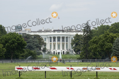 White House Photo - The White House stands in Washington DC US on Tuesday June 23 2020  Trump tweeted that he authorized the Federal government to arrest any demonstrator caught vandalizing US monuments with a punishment of up to 10 years in prison  Credit Stefani Reynolds  CNPAdMedia