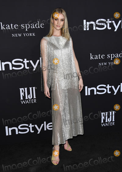 Rosie Huntington-Whitley Photo - 22 October 2018 - Los Angeles California - Rosie Huntington-Whitley 2018 InStyle Awards held at The Getty Center Photo Credit Birdie ThompsonAdMedia