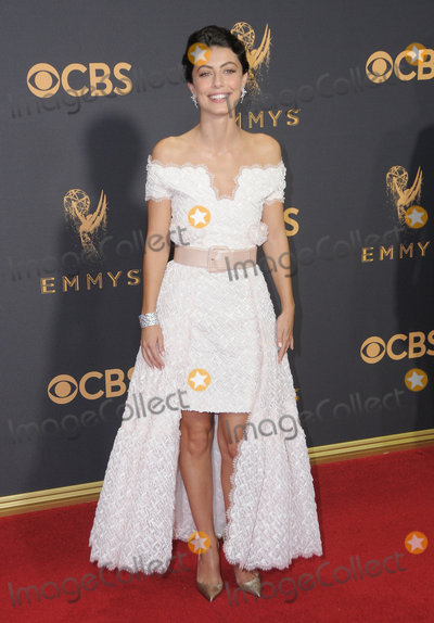 Alessandra Mastronardi Photo - 17 September  2017 - Los Angeles California - Alessandra Mastronardi 69th Annual Primetime Emmy Awards - Arrivals held at Microsoft Theater in Los Angeles Photo Credit Birdie ThompsonAdMedia