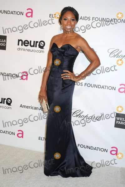 Allyson Felix Photo - 24 February 2013 - West Hollywood California - Allyson Felix 21st Annual Elton John Academy Awards Viewing Party held at West Hollywood Park Photo Credit Byron PurvisAdMedia