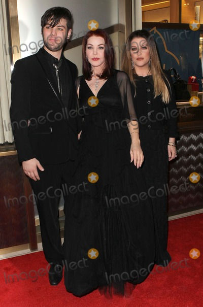 Priscilla Presley Photo - 29 January 2011 - Las Vegas Nevada - Navarone Garibaldi Priscilla Presley Lisa Marie Presley Priscilla Presley is honored by the Nevada Ballet Theatre as its 2011 Women of the Year at the Black and White Ball at Aria Resort and Casino at CityCenter Photo Credit MJTAdMedia