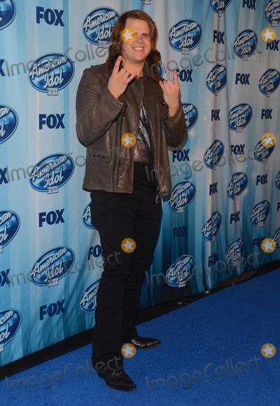 Caleb Johnson Photo - 21 May 2014 - Los Angeles California - Caleb Johnson    Press room of American Idol XIII Grand Finale held at the Nokia Theater in Los Angeles Ca Photo Credit Birdie ThompsonAdMedia