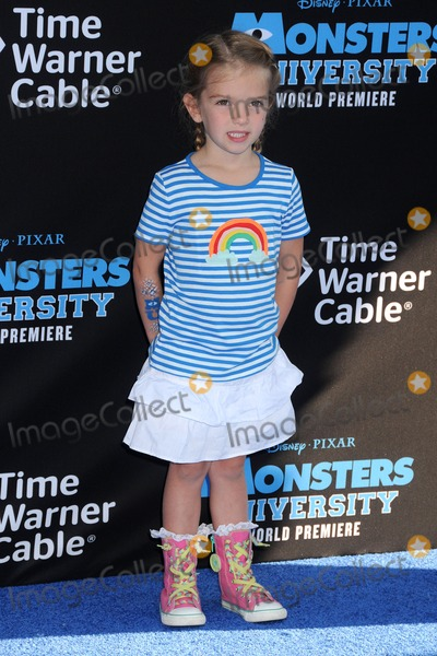 Mia Talerico Photo - 17 June 2013 - Hollywood California - Mia Talerico Monsters University Los Angeles Premiere held at the El Capitan Theatre Photo Credit Byron PurvisAdMedia